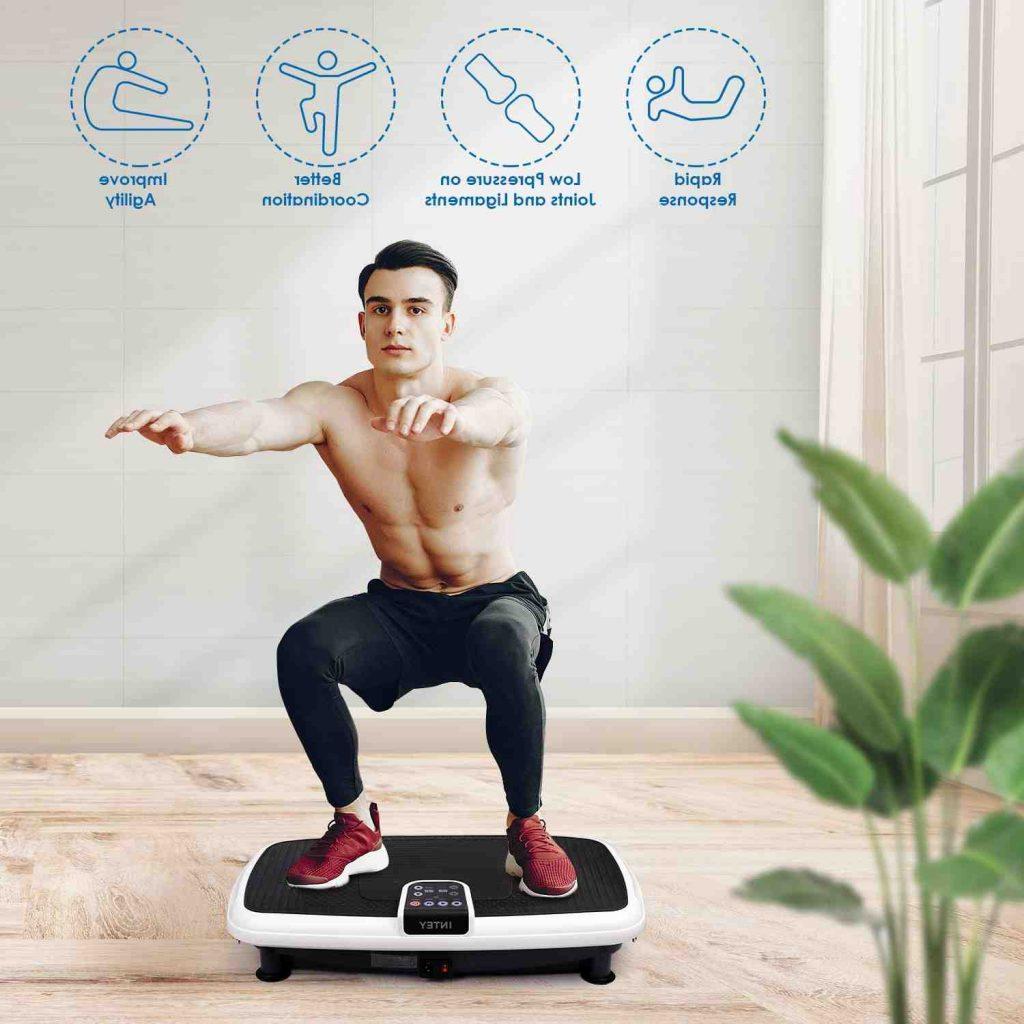 Quels exercices avec une Plate-forme vibrante ?